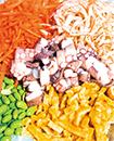 炊き込む材料は5種類