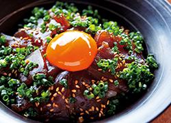 マグロのひゅうが丼(保戸島)