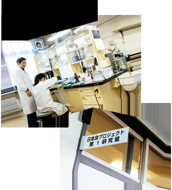 u東北大学の研究室で先生を発見!
