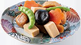 高野豆腐入り煮しめ