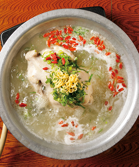韓味一の参鶏湯