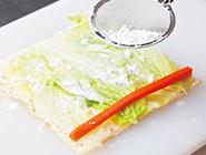 白菜の信田巻き