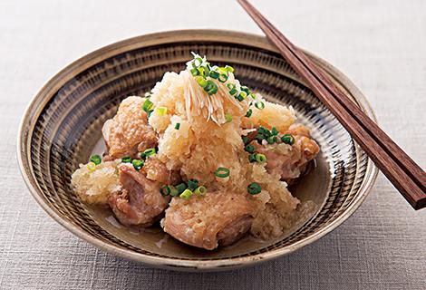 鶏のおろし煮