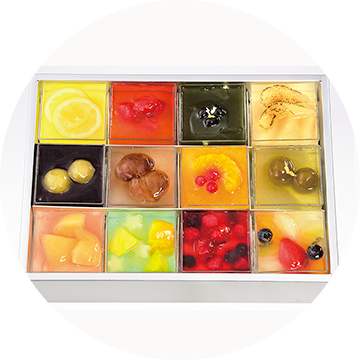 〈ケーキハウス ショウタニ〉夏の涼菓 ゼリー寄せ