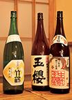 ワインと日本酒 大槻