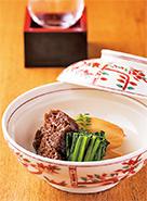 里芋と利休麩の煮〆