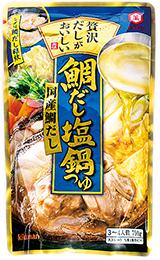 キッコーマン 贅沢だしがおいしい 鯛だし塩鍋つゆ