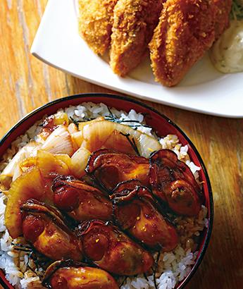 牡蠣カバ丼