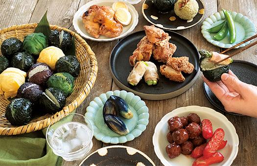 手巻き寿司風パーティ
