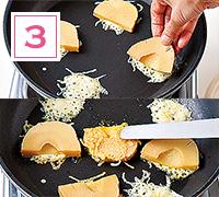 たけのこのチーズ焼きを作る