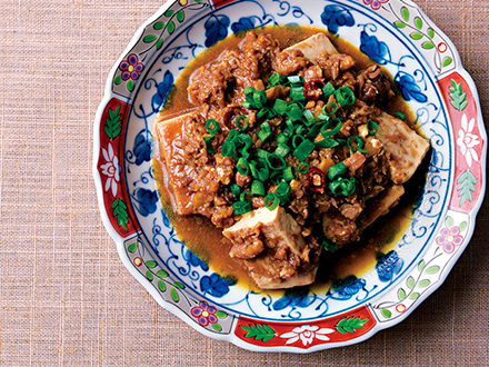 肉なし麻婆(マーボー)豆腐