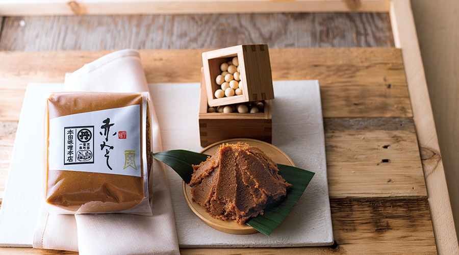 京料理の伝統を脇で支え続けた味噌
