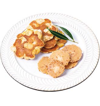ココナッツ煎餅、ビンズせんべい