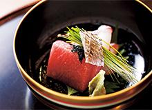 天然マグロと鯛