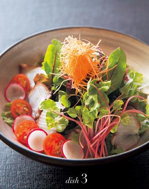 真蛸と海藻のサラダ