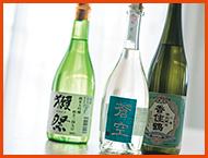 フルーティな大吟醸と香りのよい純米酒には……