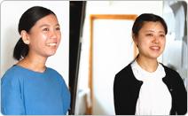 左:内田さん、右:杉山さん