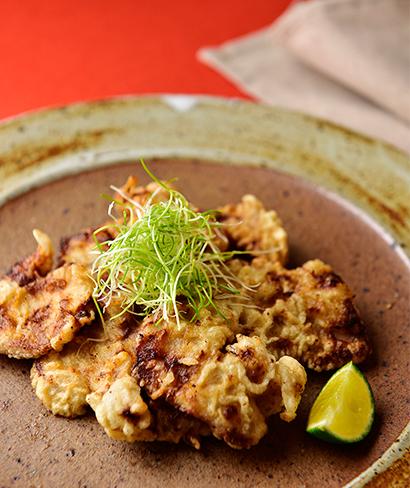 豚フィレ肉の味噌揚げ