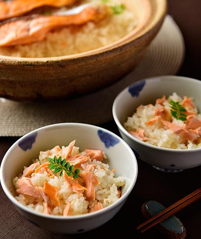 鮭の炊き込み御飯