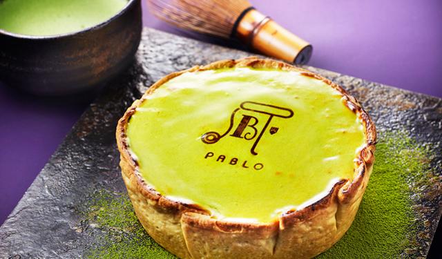 PABLOの春の人気タルト 抹茶チーズタルトが販売開始
