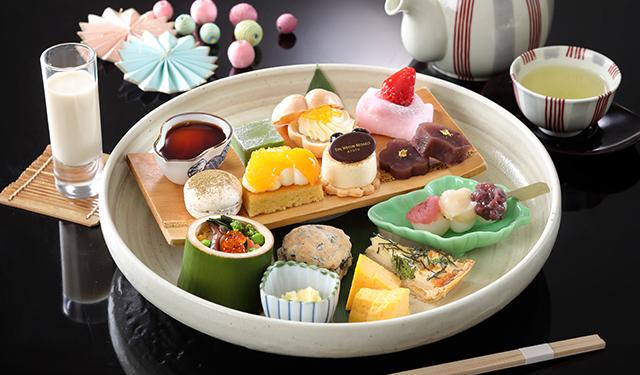 日本の食材と京都の魅力が凝縮した 和風アフタヌーンティー登場
