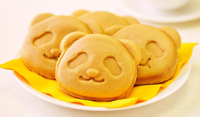 毎夏人気の抹茶味がリニューアル 上野限定のパンダ焼き