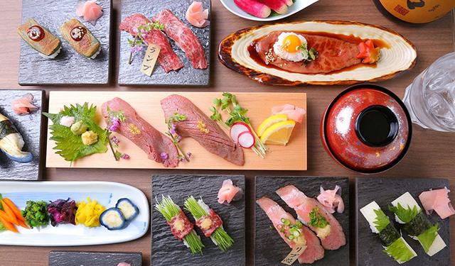 「おにくのおすし京都祇園店」で 松阪牛を使った極上寿司に舌鼓!