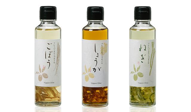 国産野菜の風味が一瓶に凝縮した 和風オリーブオイルが発売開始