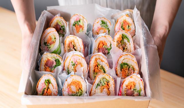 アメリカ西海岸から逆輸入! 寿司ブリトー専門店がオープン