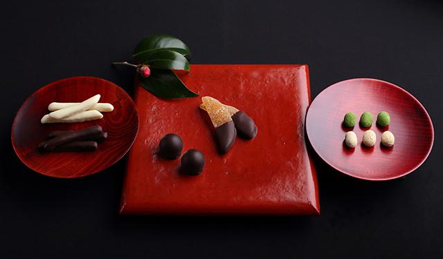 柚子・黒豆・梅酒の味わいが活きた 和のバレンタインチョコが登場