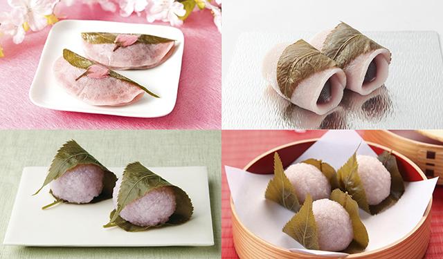 長命寺と道明寺を食べ比べ! 大丸東京店で桜餅特集が開催中