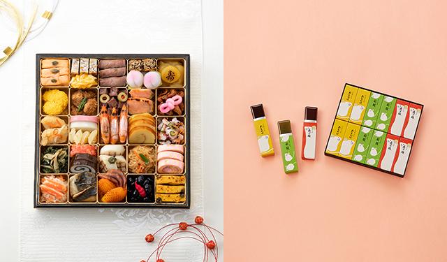 年末年始の準備の総仕上げに! 迎春菓子とおせちのフェア開催
