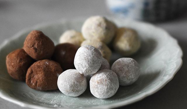伝統菓子を現代風にアレンジ きな粉とチョコの美味しい出合い