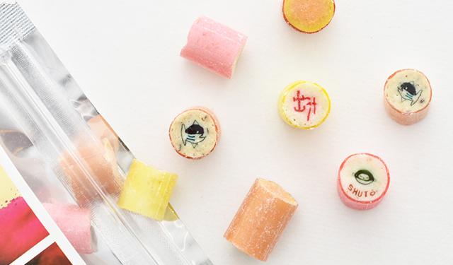 カツオに出汁に生姜に酒盗 個性あふれる酒の肴キャンディ