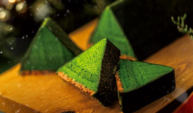 宇治茶の老舗が手掛ける 抹茶好きのためのクリスマスケーキ