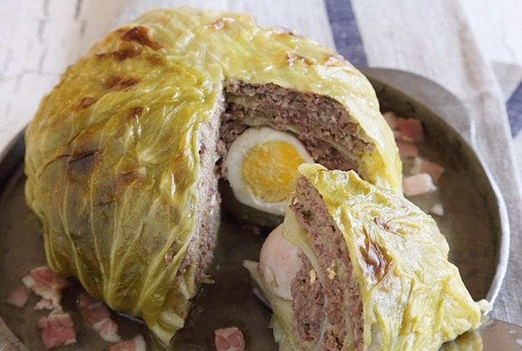 お出汁が決め手、簡単華やか! おもてなし料理 ⑥ 春キャベツを堪能! シューファルシ