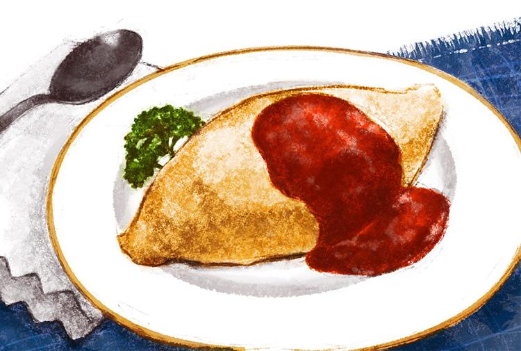 文化遺産にふさわしい店「この一品」 新・和食めぐり⑧にっぽんの洋食 新川 津々井のチキンオムライス