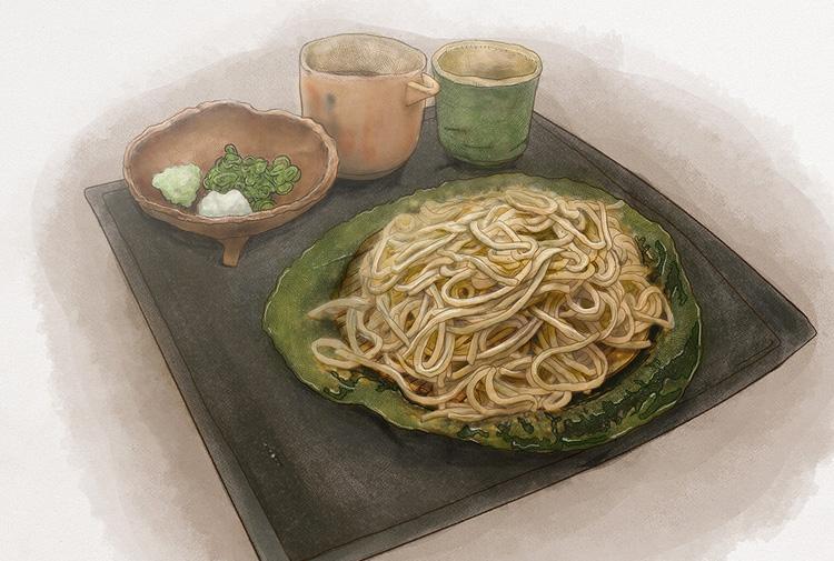 文化遺産にふさわしい店「この一品」 新・和食めぐり⑪玄蕎麦 野中の「蟻巣の田舎蕎麦」
