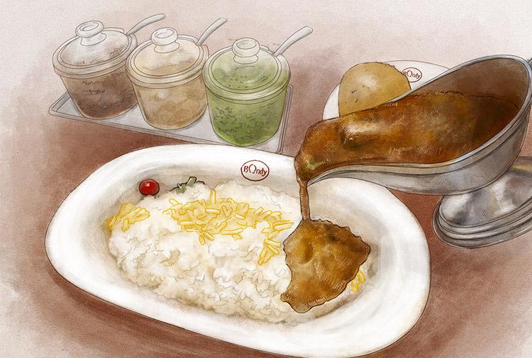 文化遺産にふさわしい店「この一品」 新・和食めぐり⑩欧風カレー ボンディ 神保町本店の「ビーフカレー」
